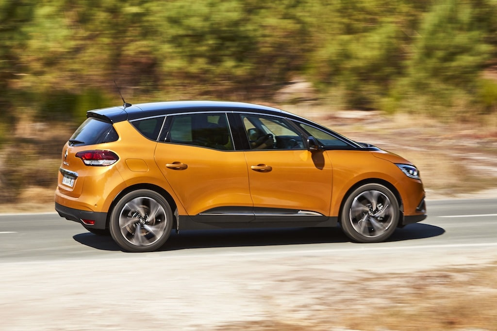 renault scenic route
