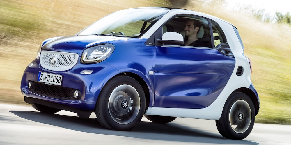 La Smart Fortwo reste la voiture la plus volée en France